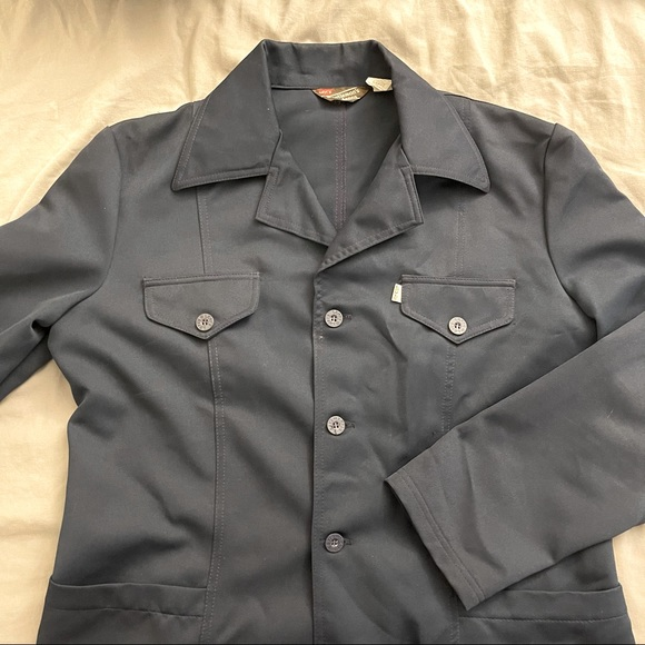 Levi's navy lightweight vintage shirt jacket